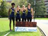 """Regionali cadetti, la 4 x 100m maschile è un capolavoro: 44""""39"""