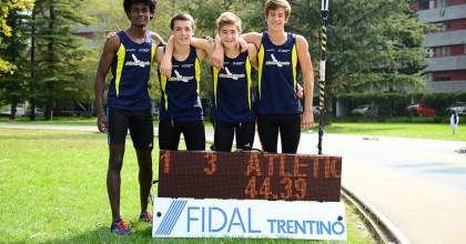 Teddy 3° ai campionati Italiani, e Cavagna, Ianes e Paissan quarti con la staffetta!